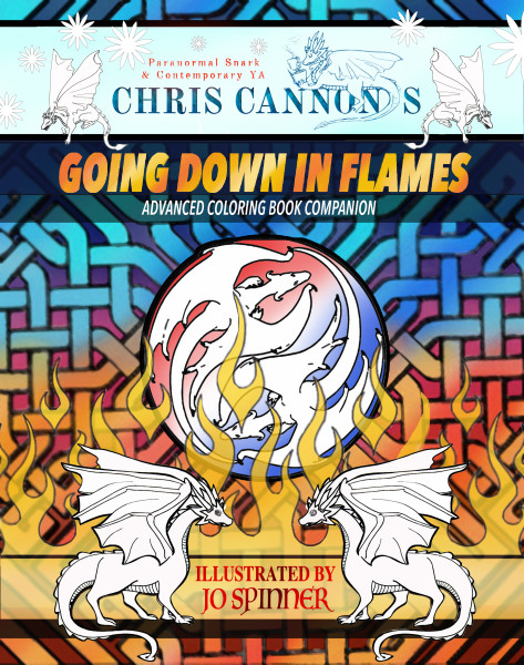 Going Down in Flames: Coloring Book Companion