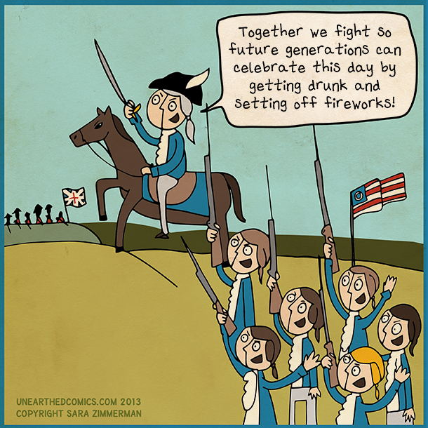 Fourth of July Humor - Chris Cannon